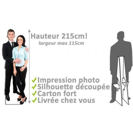 Dimensions silhouette découpé Pro Large