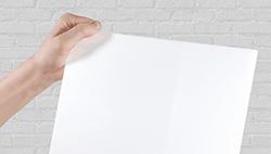 opaal wit plexi scherm voor coronascherm op maat