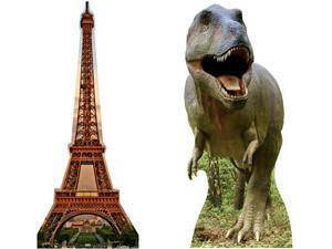 figurines géantes - objets et animaux