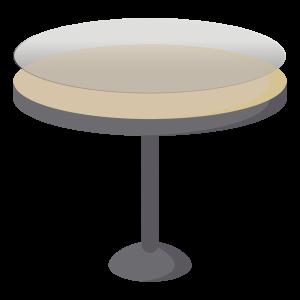 Protège table hygiénique