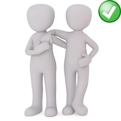 foto tips levensgrote pop goede houding twee personen