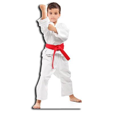 enfant judo sport silhouette découpée